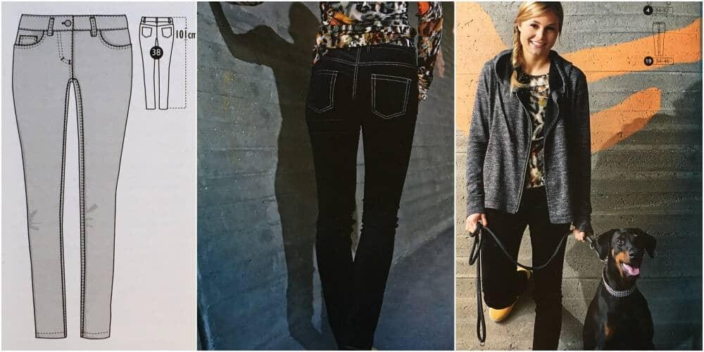 Black Magic Ottobre Jeans Schnittmuster