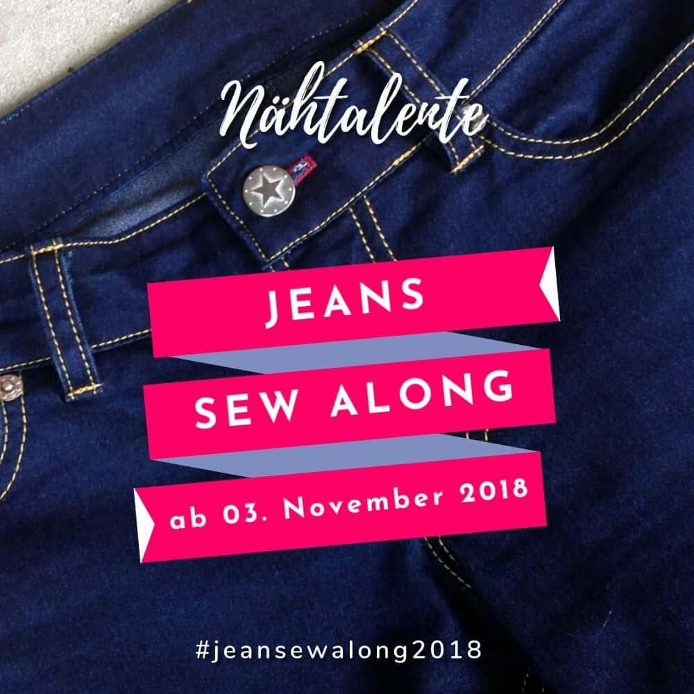 Jeans Sew Along 2018: Wie näht man eine Jeans?