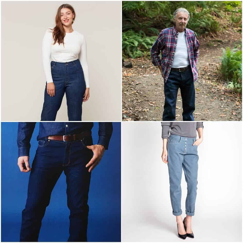 Jeans Sew Along Schnittmuster #jeanssewalong2018