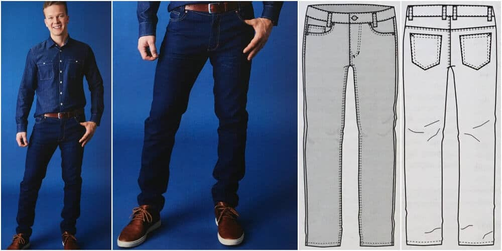 Straight Leg Classic Ottobre Jeans Schnittmuster