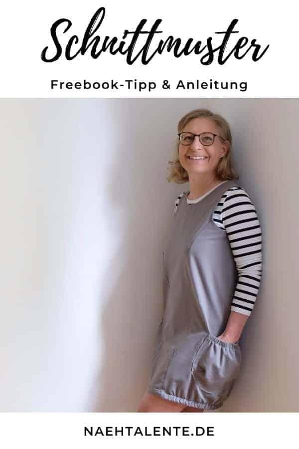 Kostenloses Schnittmuster: Emma Tunika von Nosh & Deutsche Nähanleitung -  Nähtalente - Das Magazin für Hobbyschneider/innen mit Schnittmuster-Datenbank - #nähen #freebook #schnittmuster #gratis #nähenmachtglücklich #freesewingpattern #handmade #diy