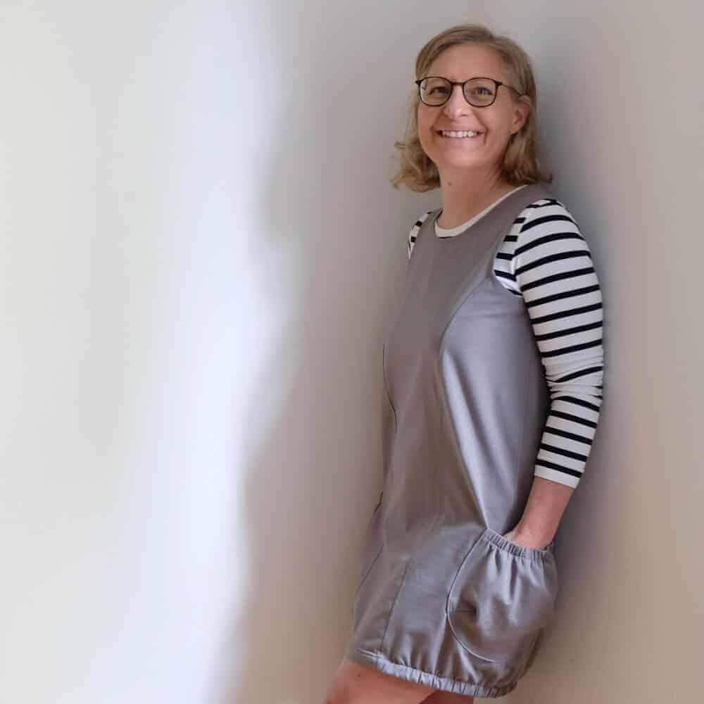 Emma Tunika von Nosh – Deutsche Nähanleitung mit Fotos