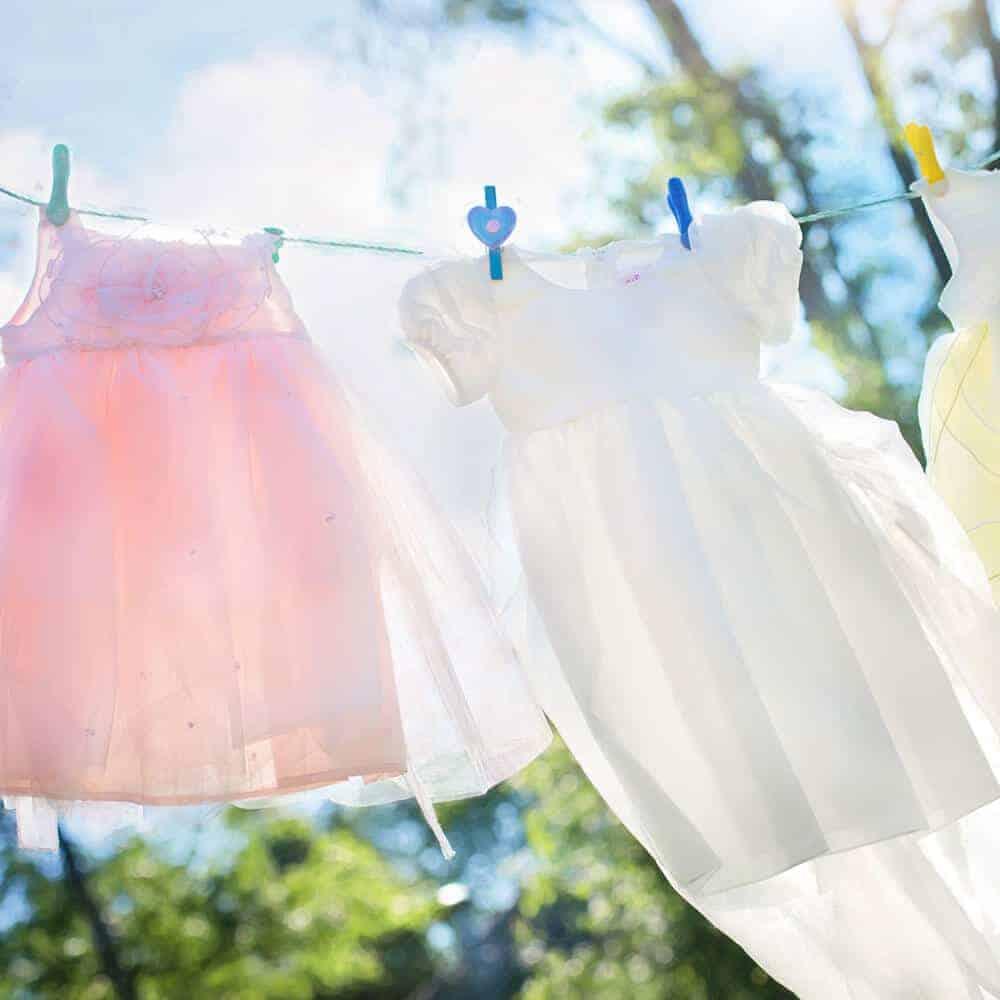 Stoffe vor dem Nähen waschen