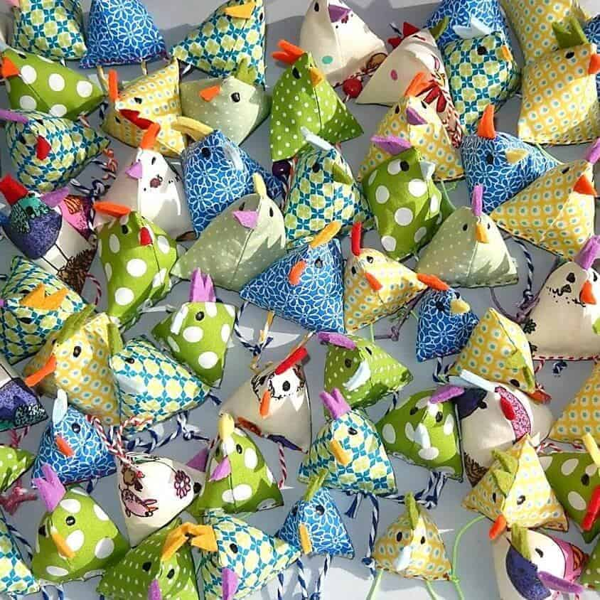 Mini-Osterhühner