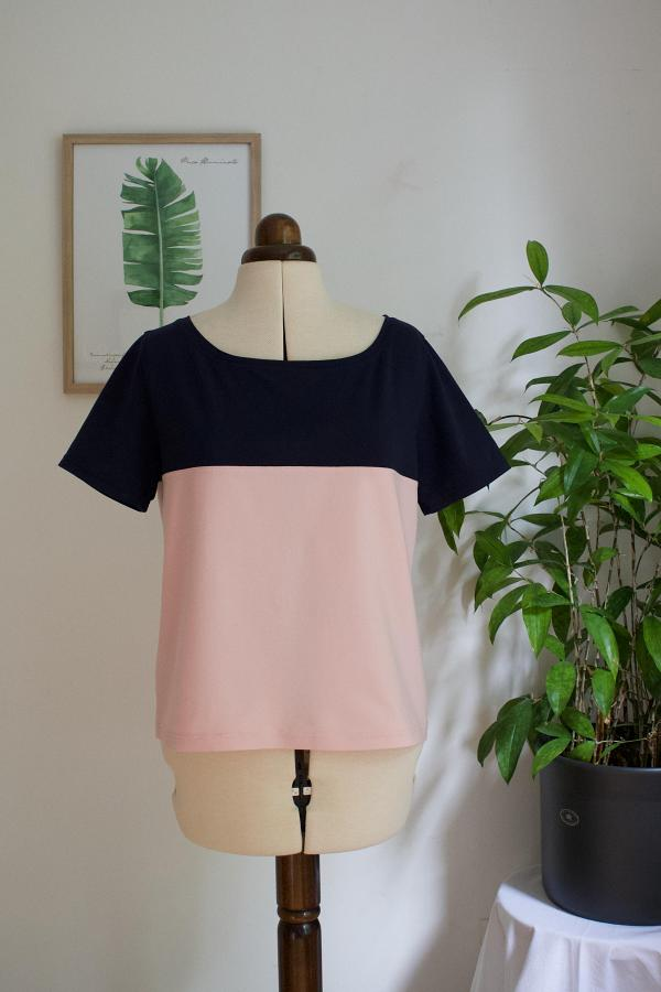 Color Blocking Shirt nähen