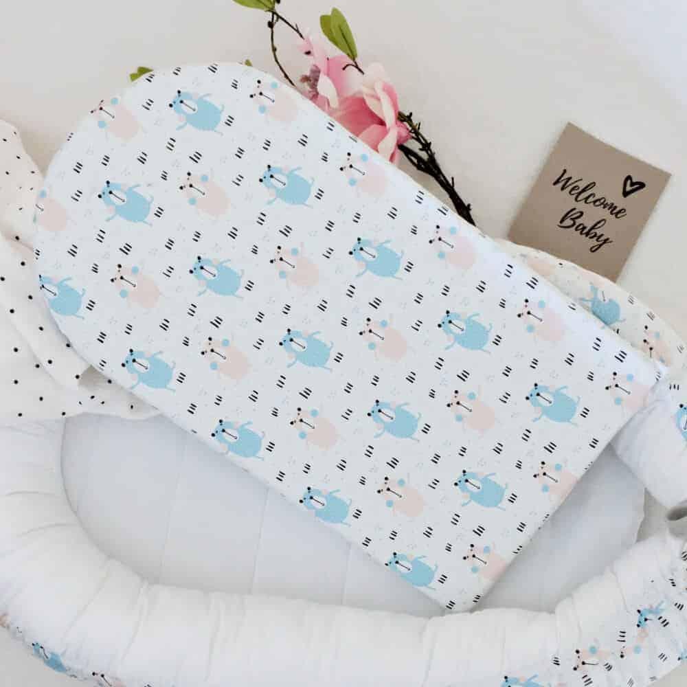 Babynest Nähkurs Teil 12 – Matratze und Bezug nähen