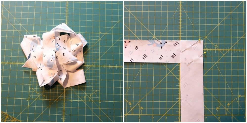 Schrägband mit Schrägbandformer machen