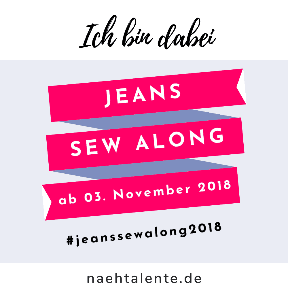 Jeans Sew Along 2018 #jeanssewalong2018