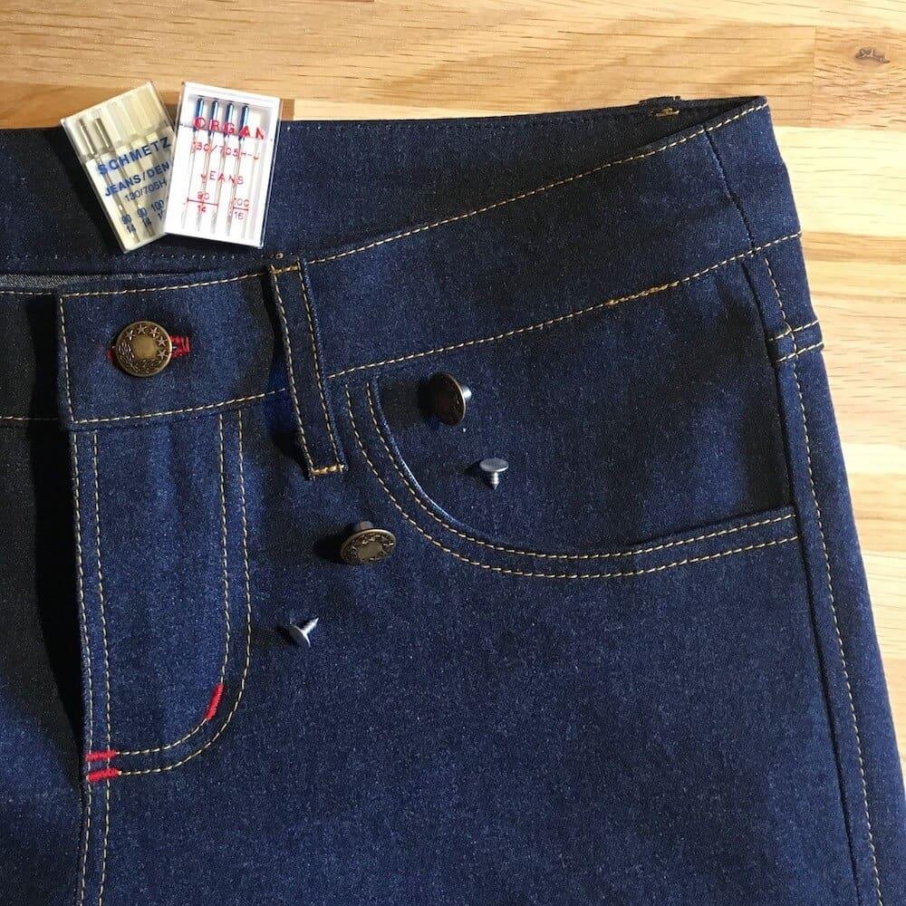 Jeans selber nähen