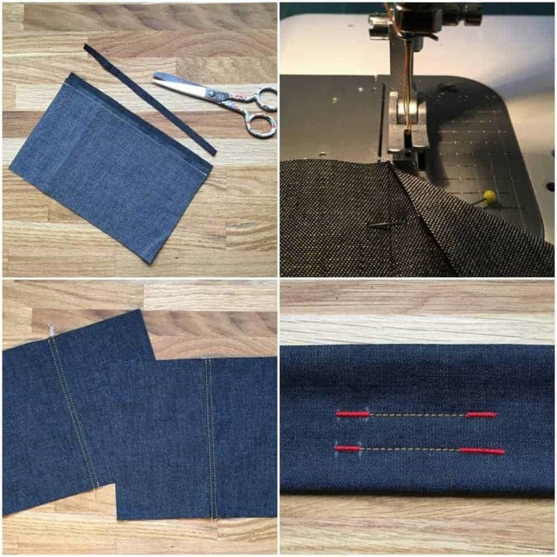 Jeans nähen Teil 5: Jeansnähte richtig nähen