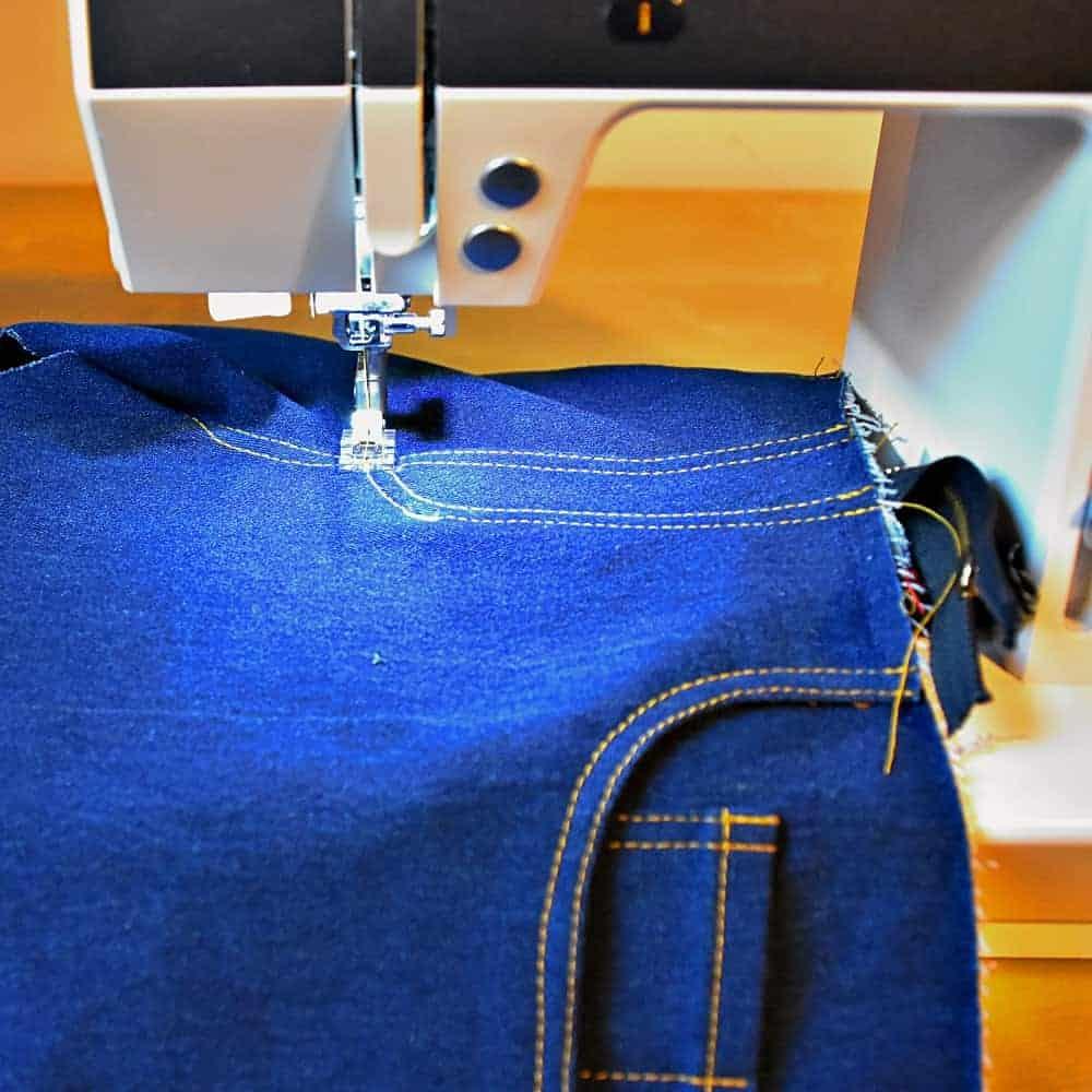 Reissverschluss Hose und Jeans nähen