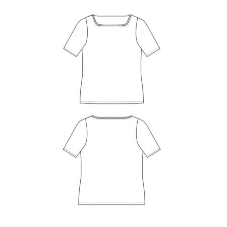 Jibby T-Shirt Schnittmuster