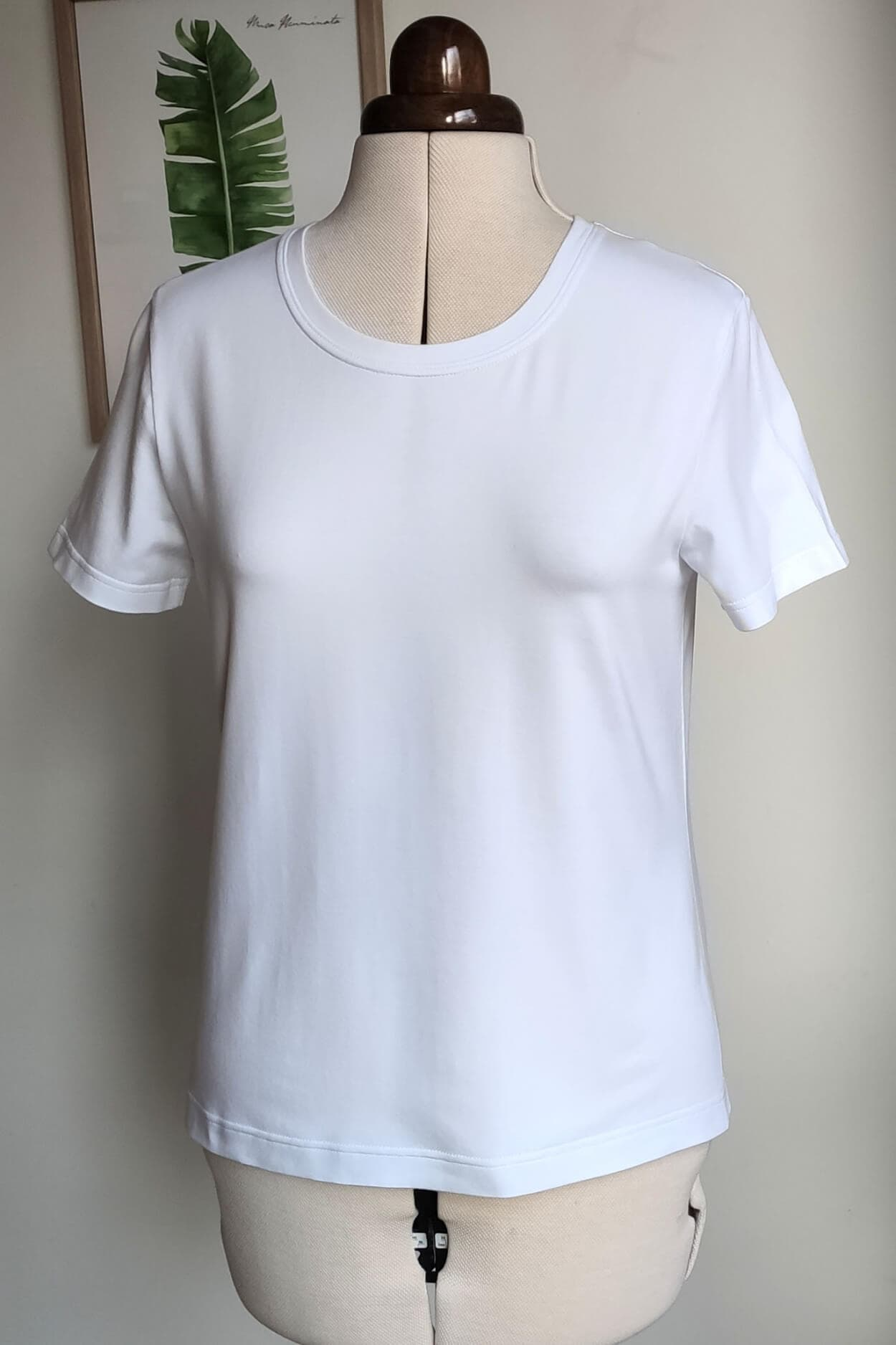 Kostenloses Schnittmuster für ein kurzärmliges T-Shirt