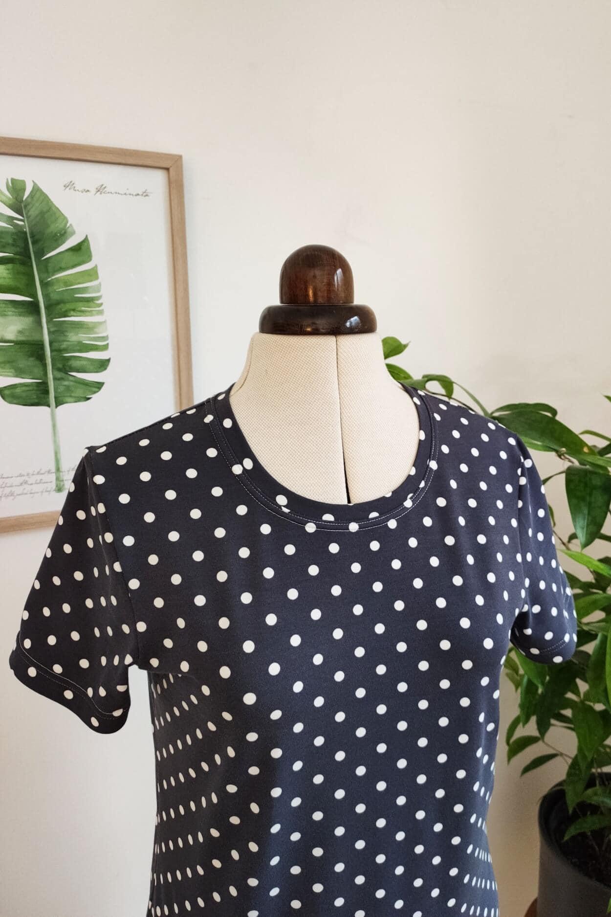 T-Shirt Schnittmuster gratis für Damen