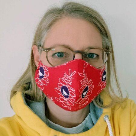 Atemschutzmaske Naehtalente Schnittmuster