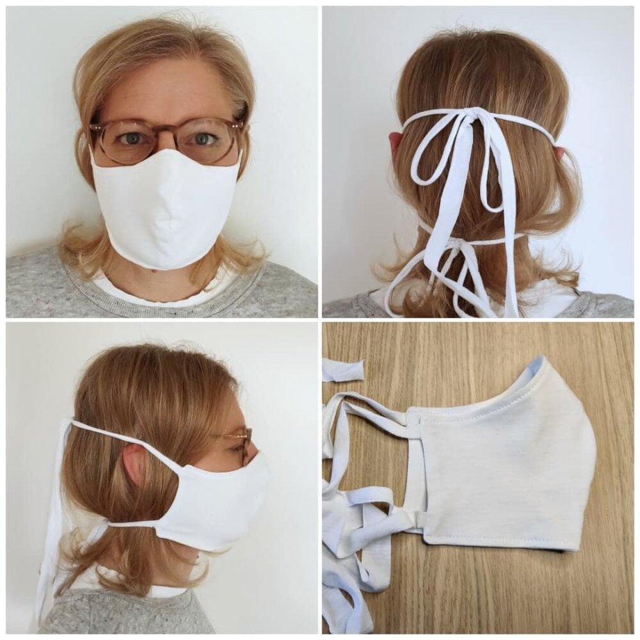 Maske richtig waschen und tragen