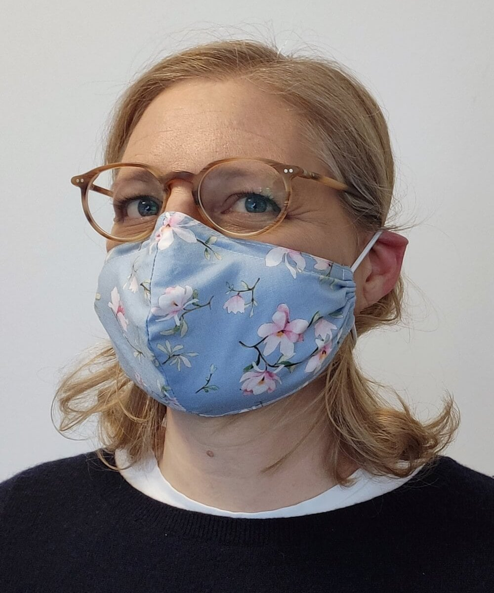 Sewing a face mask tutorial