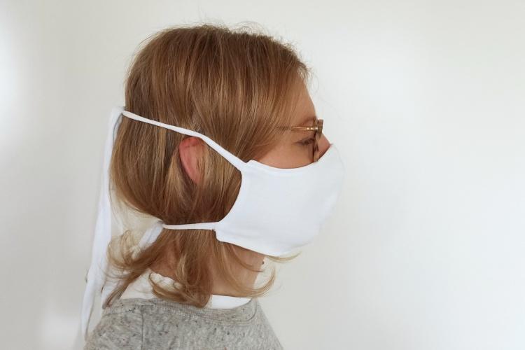 Atemschutzmaske aus einem T-Shirt oder Jersey nähen #WirBleibenZuhause #DIY 1