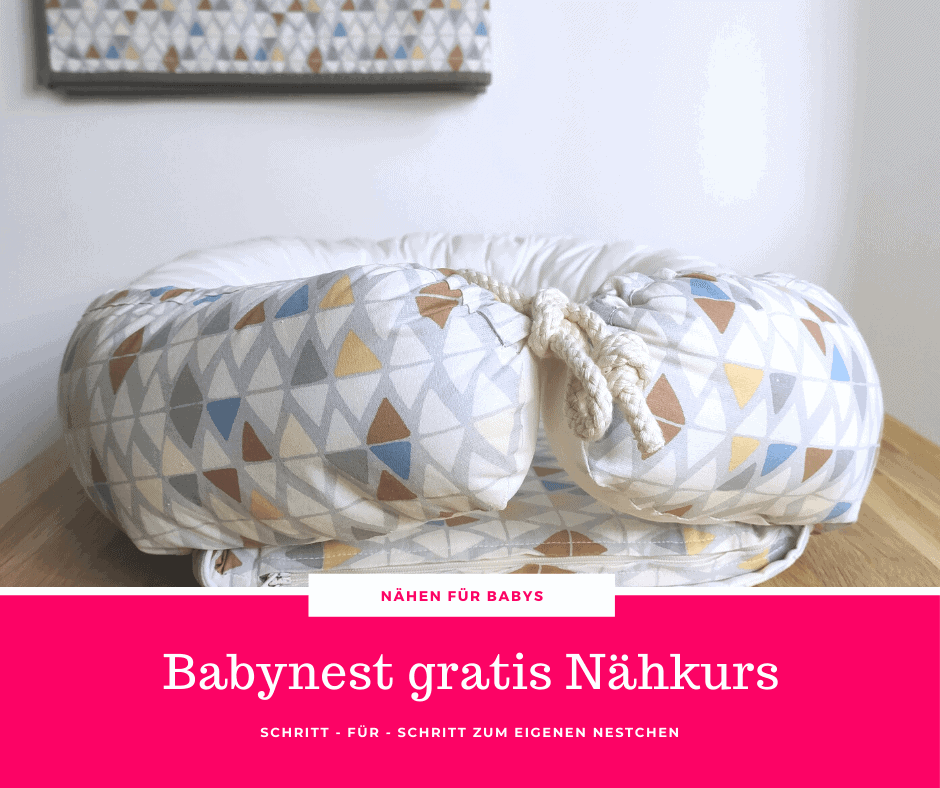 Babynest Naehkurs gratis online
