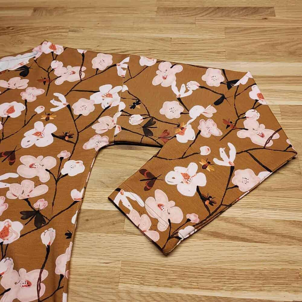Schnittmuster Kimono Tee Maria Denmark mit Aermeln