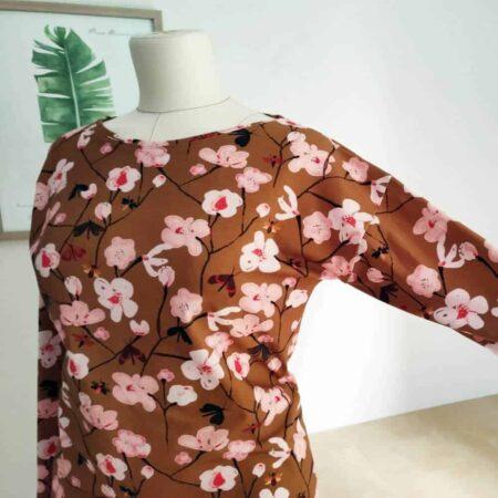 Kimono Tee mit Ärmeln Ärmelkonstruktion