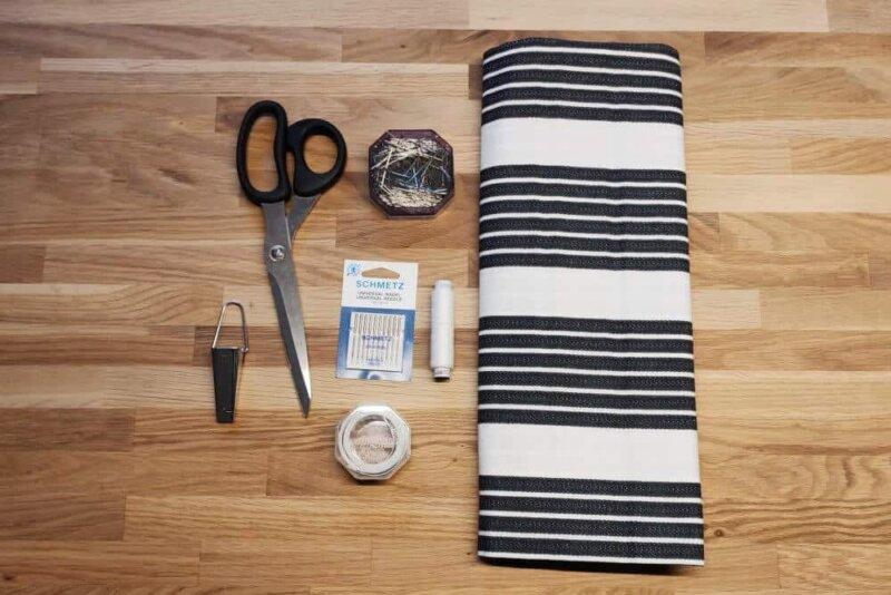 Material für ein Küchenhandtuch zum selber nähen