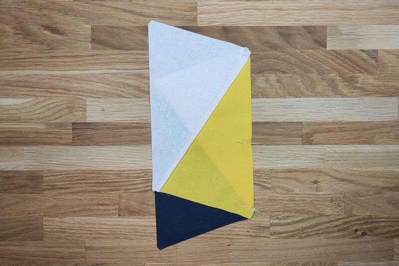 Dreiecke erneut stecken