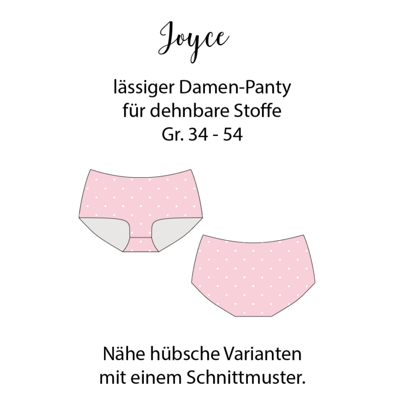 Schnittmuster Panties Joyce