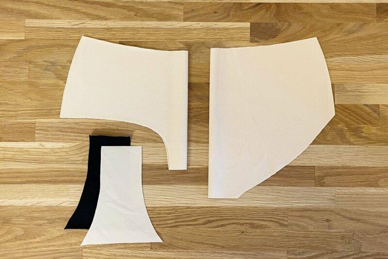 Zuschneiden Panty Joyce Nähtalente Schnittmuster