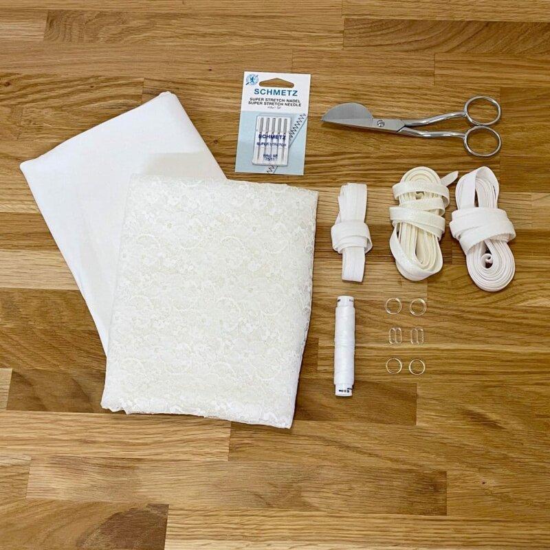 Material für ein Wäscheset