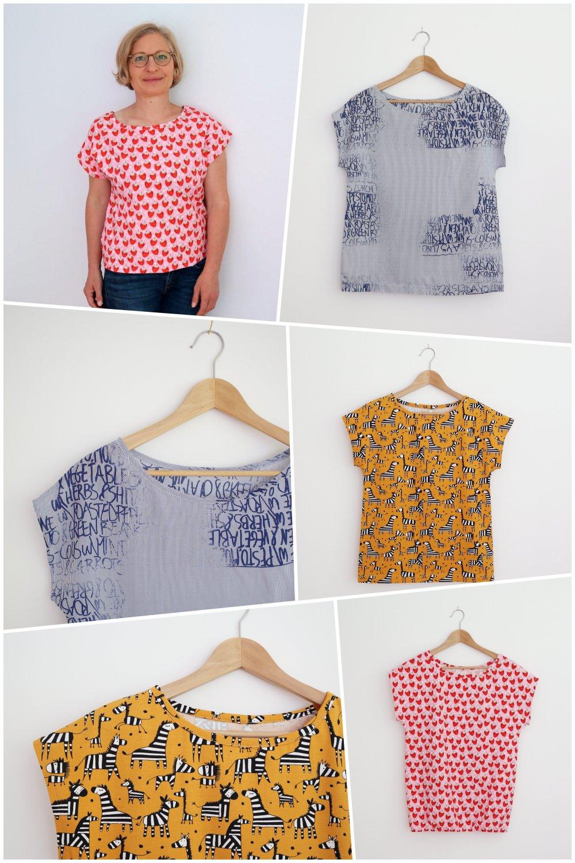Betty Top Freebook T-Shirt Damen
