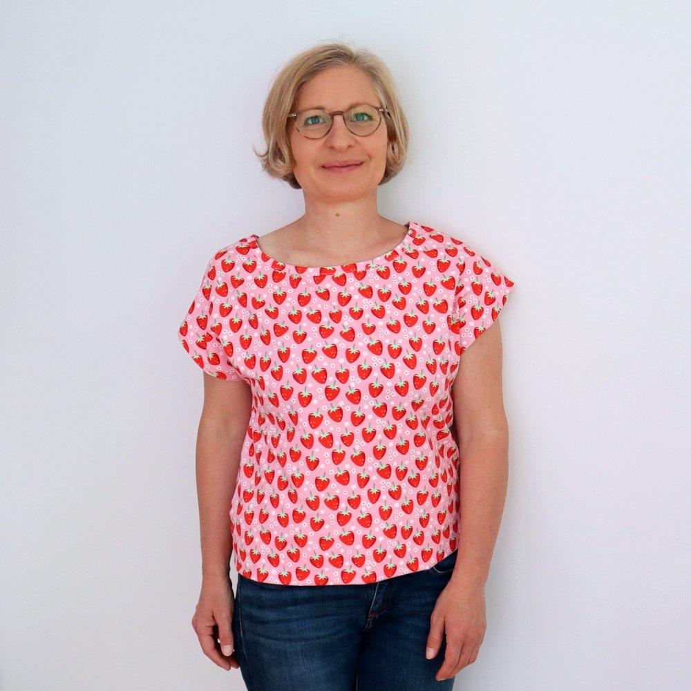 Betty Top T-Shirt Schnittmuster Webware und Jersey
